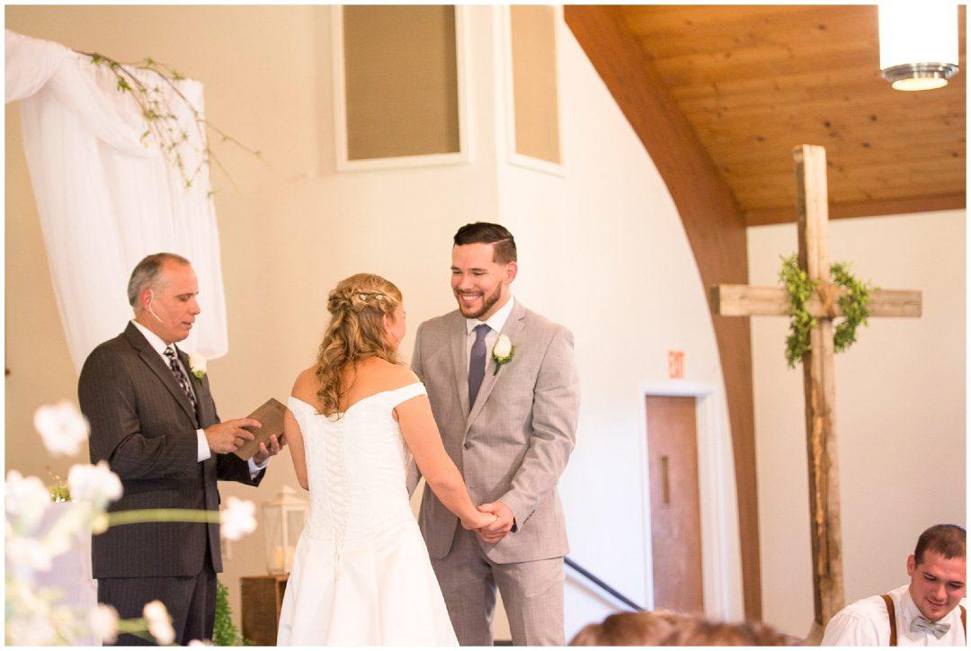 Lauren + Caleb | Rustic Church Wedding