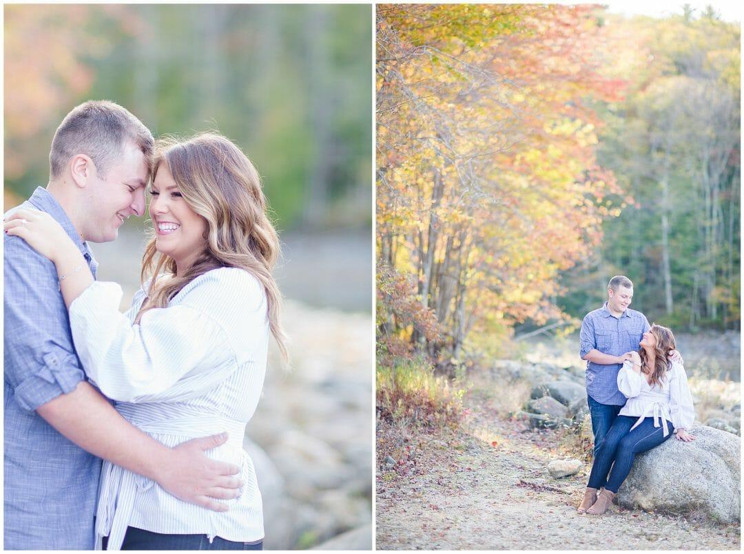 Nika + Dominic | Fall Engagement