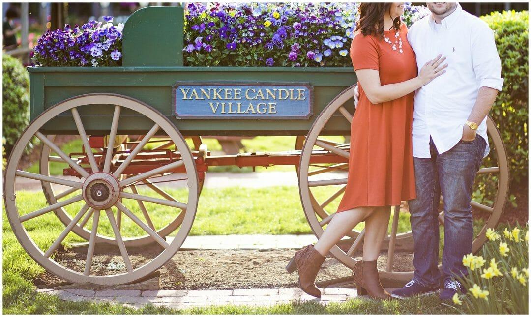 Liz + Dallas   Yankee Candle Engagement