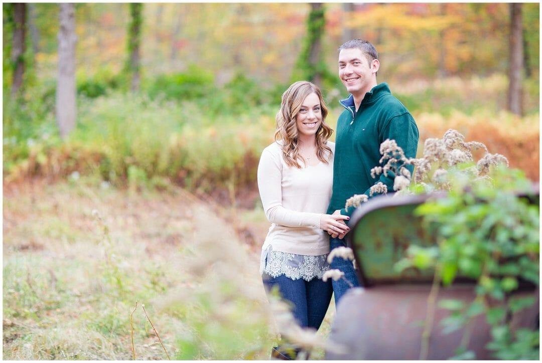 Kathleen + Jay | Fall Engagement