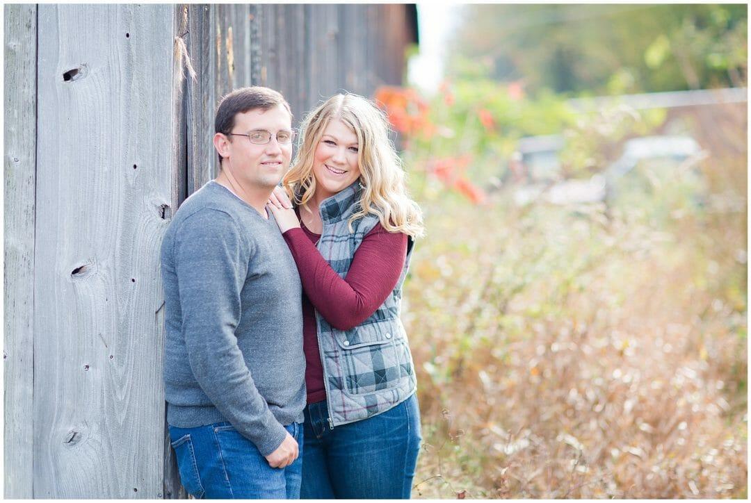 Jenna + Josh | Orchard Engagement