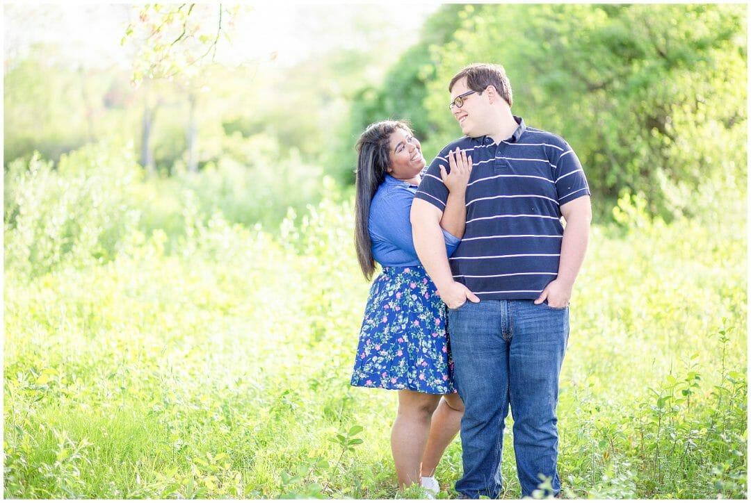 Evan + Veronica | Ken Cuddeback Trail Engagement