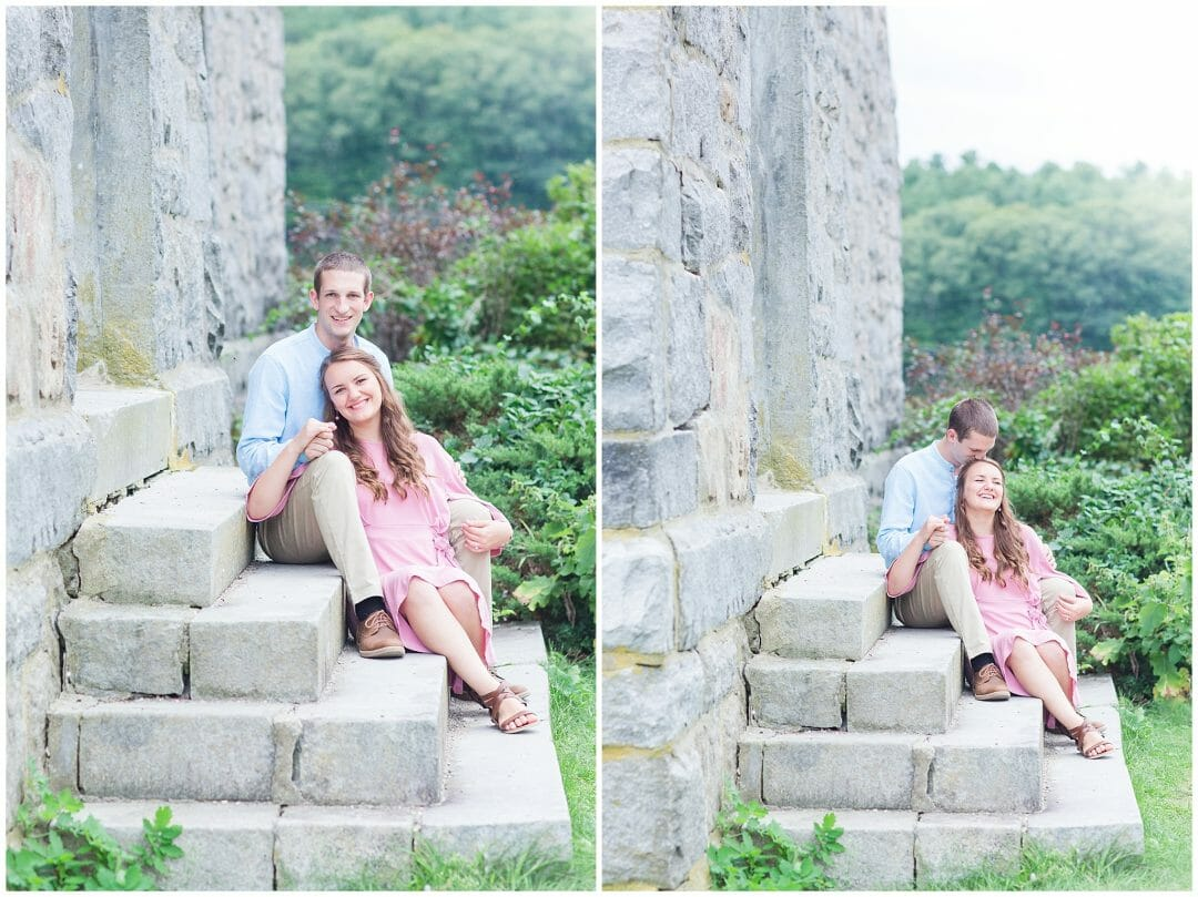 Mia + Matt | Old Stone Church Engagement