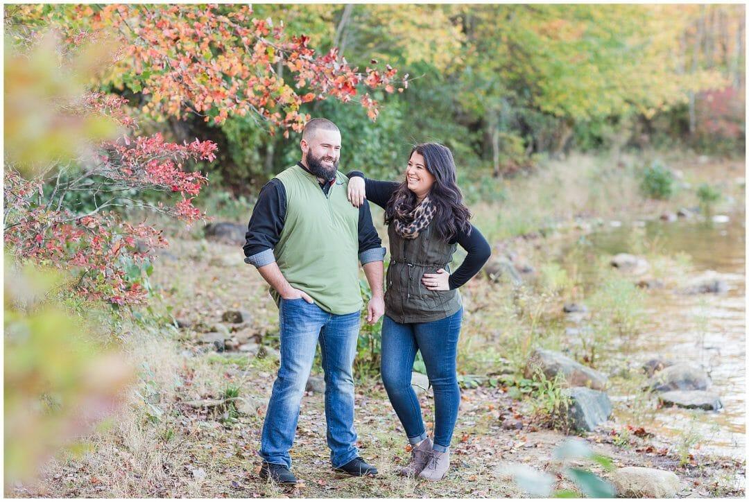 Kendal + Josh | Fall Engagement