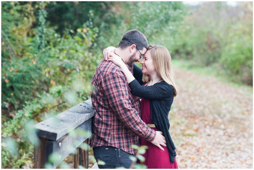 Sarah + Zach | Ken Cuddeback Trail Engagement