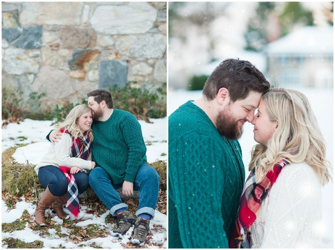 Molly + Drew | Winter Engagement