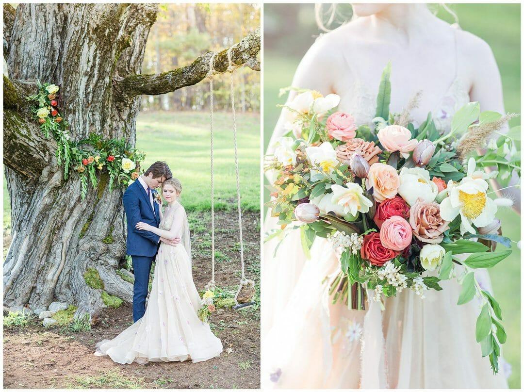 Woodland Wedding Inspiration   Styled Shoot