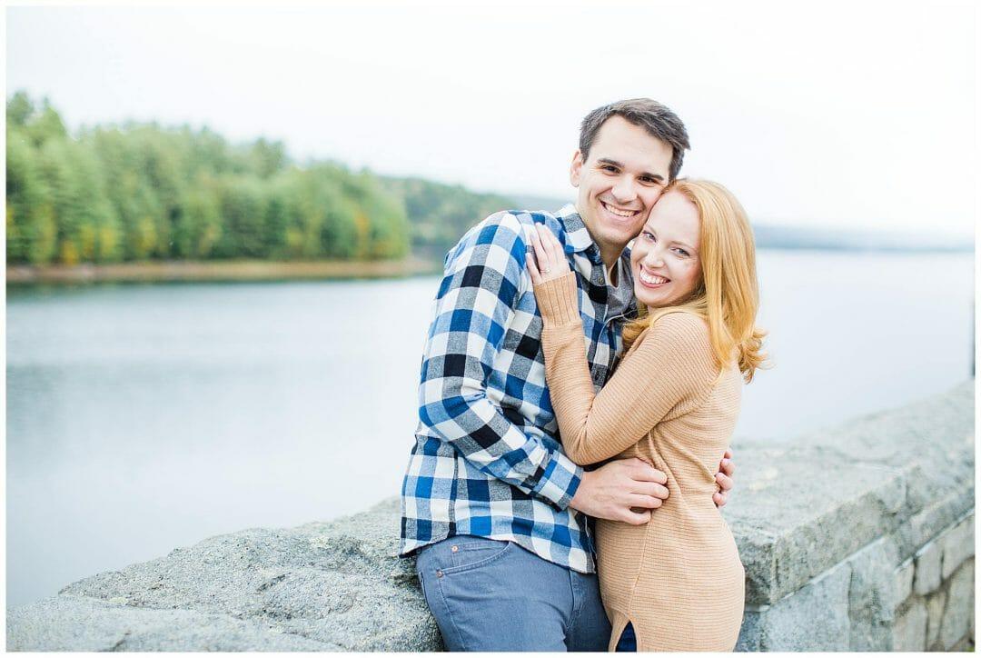 Cassie + Andy | Saville Dam Engagement