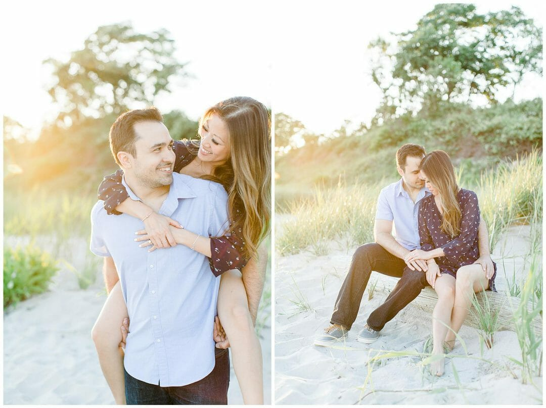 Molly & Larry | Harkness Park Engagement