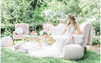Oakholm Garden Wedding Editorial