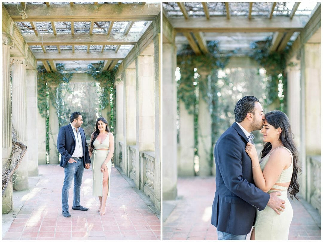 Spring Engagement at Eolia Mansion