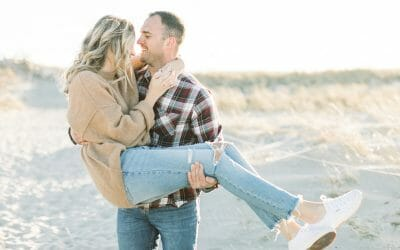 Winter Engagement at the Crane Estate | Mackenzie & Sean