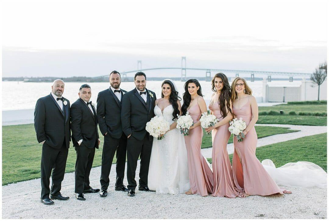 Bridal Party at Belle Mer