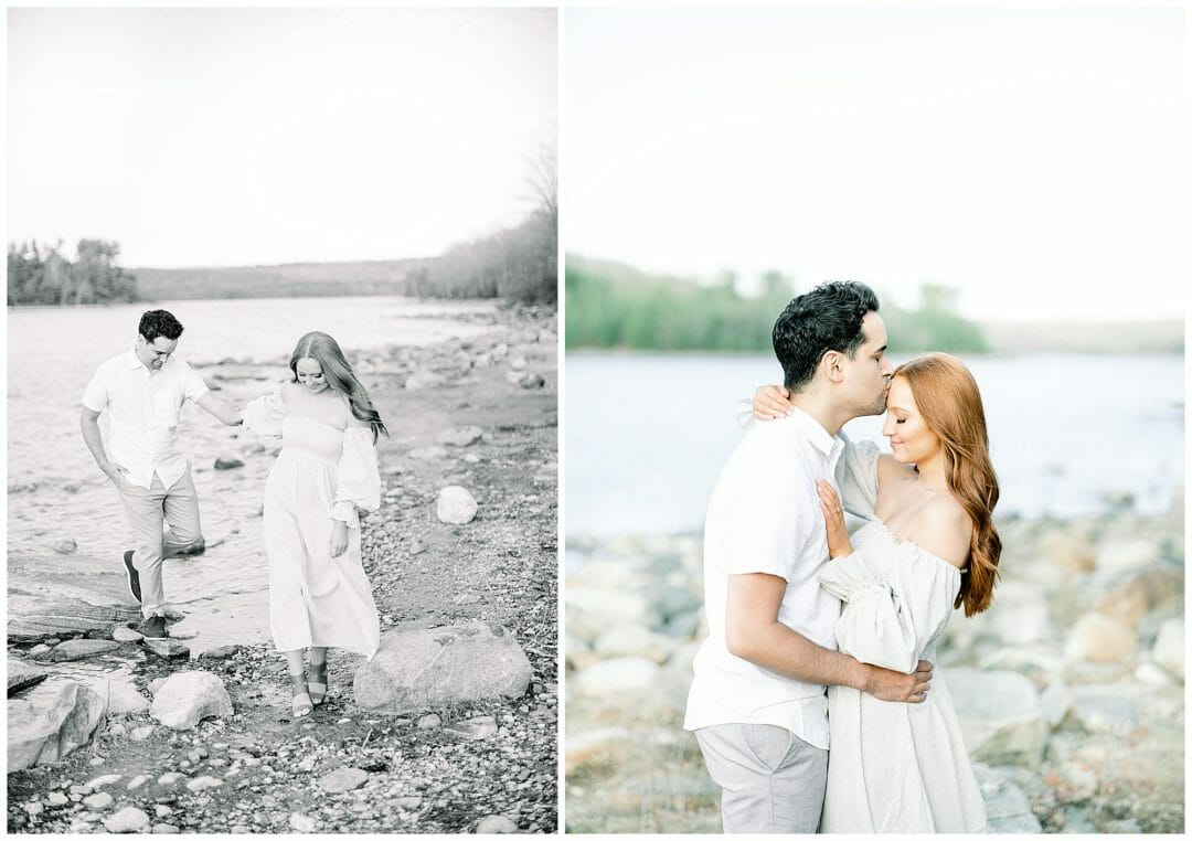 Spring Engagement at the Quabbin Reservoir