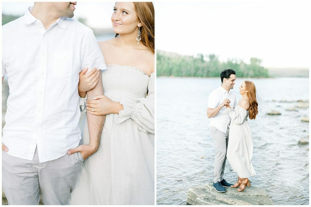 Stylish Spring Engagement | Olivia & Sam