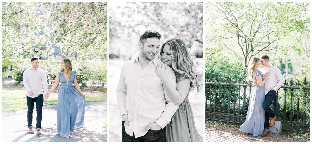Boston Public Garden Engagement | Brianna & Matthew