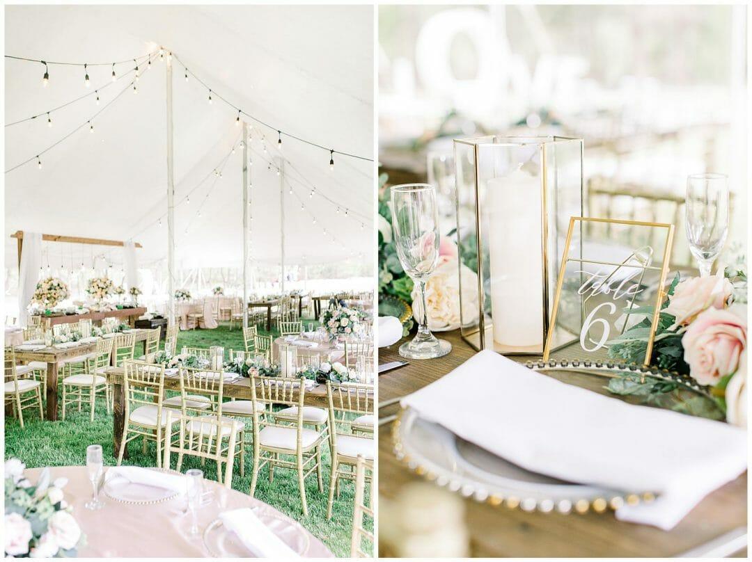 Private Estate Tented Wedding in Boston