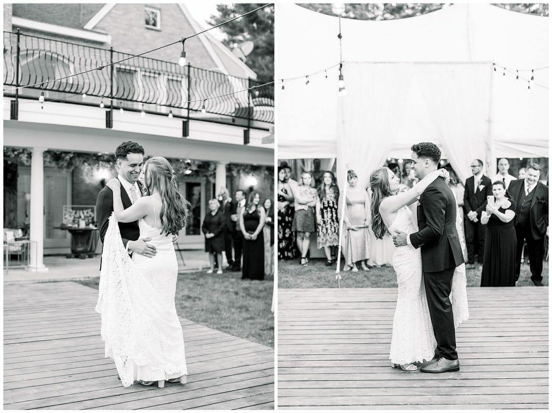 A Romantic Private Estate Wedding in Boston