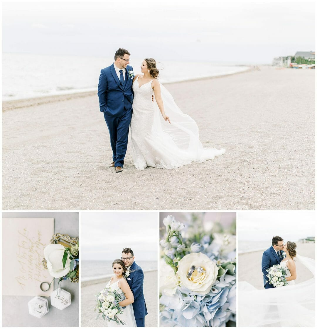 Pavilions at Penfield Beach Wedding