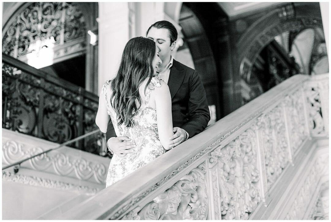 A Dreamy Newport Engagement at Ochre Court