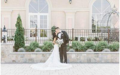 An Elegant Black Tie Wedding at Aria
