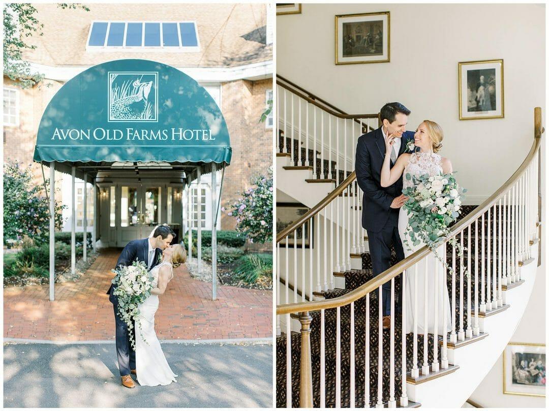Avon Old Farms Hotel Wedding 3231