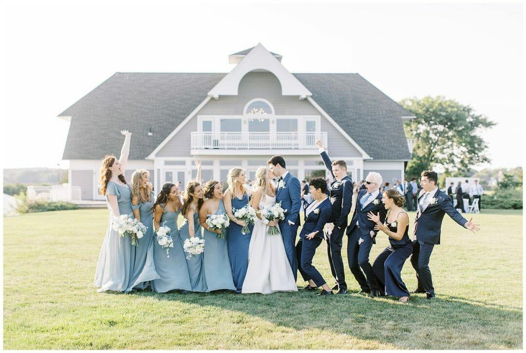 A Coastal Guilford Yacht Club Wedding