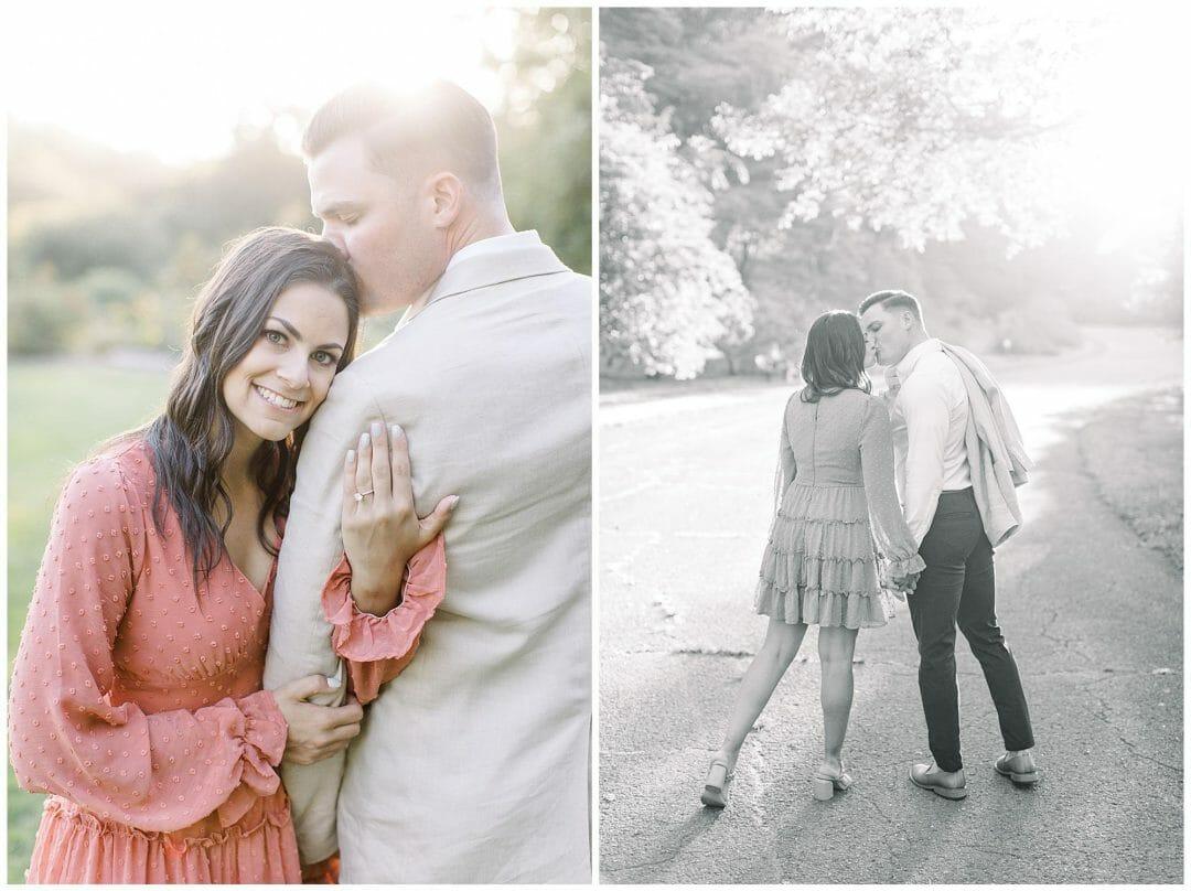A Warm & Romantic Boston Park Engagement