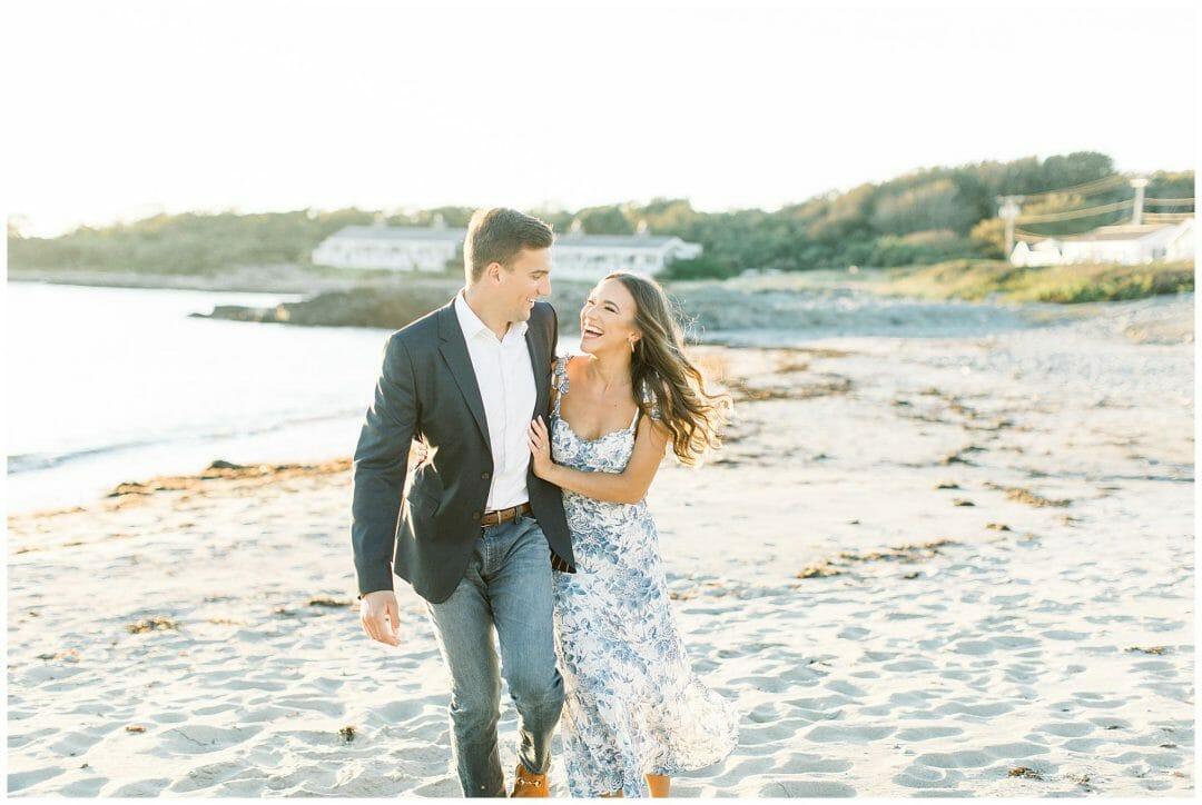 A Romantic Seaside Engagement at Castle Hill Inn