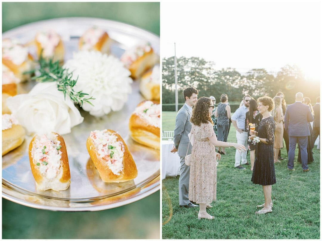 A Tented Wedding at the Eisenhower House