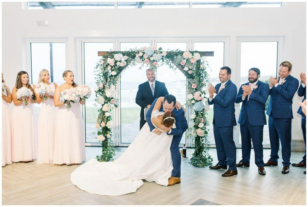 A Misty October Wedding at Newport Beach House